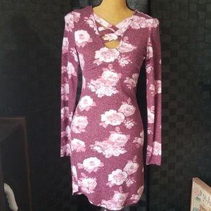 SUPER* Soft, Mid Length Long Sleeve Dress